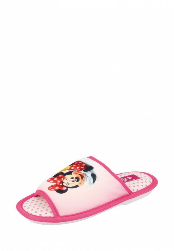 Тапочки для девочки De Fonseca цвет розовый
