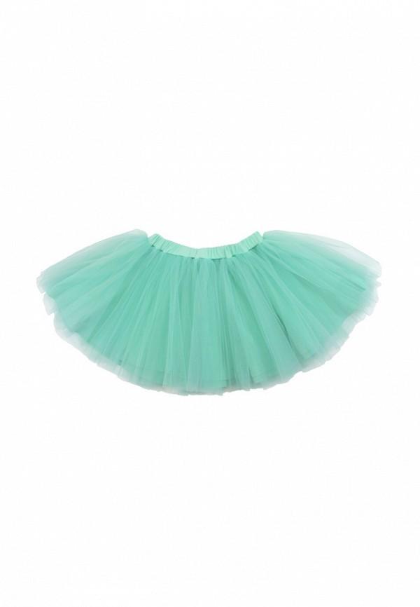 юбка lisa&leo для девочки, бирюзовая