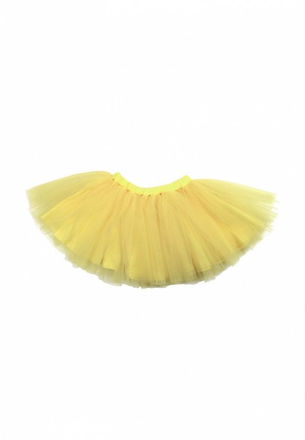 юбка lisa&leo для девочки, желтая