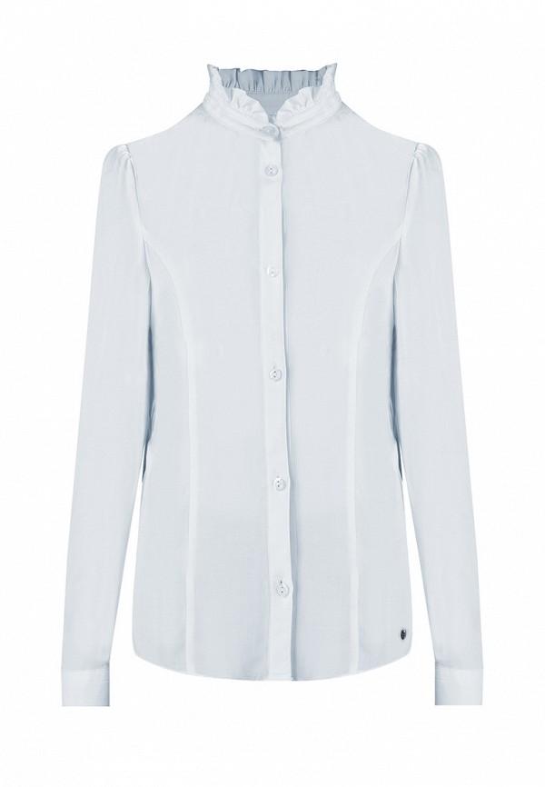 блузка finn flare для девочки, голубая