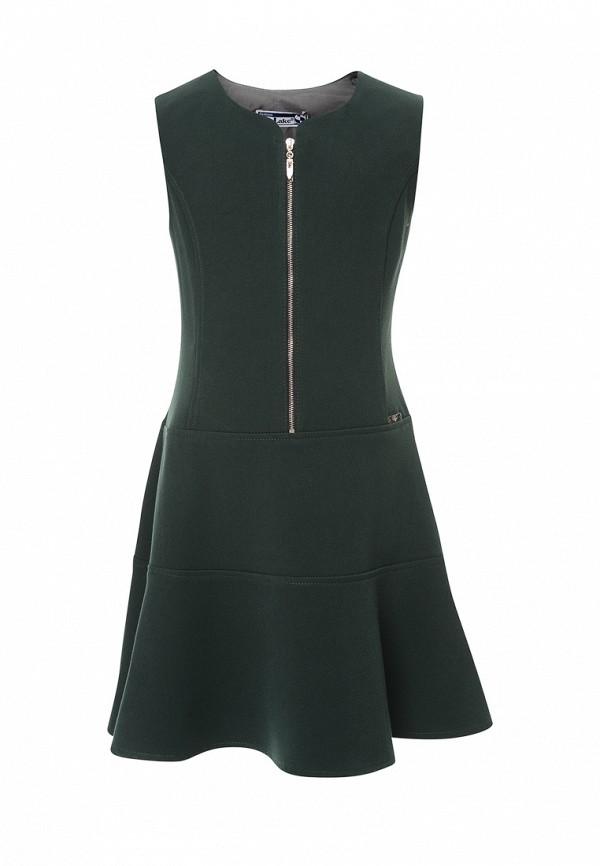повседневные платье sky lake для девочки, зеленое