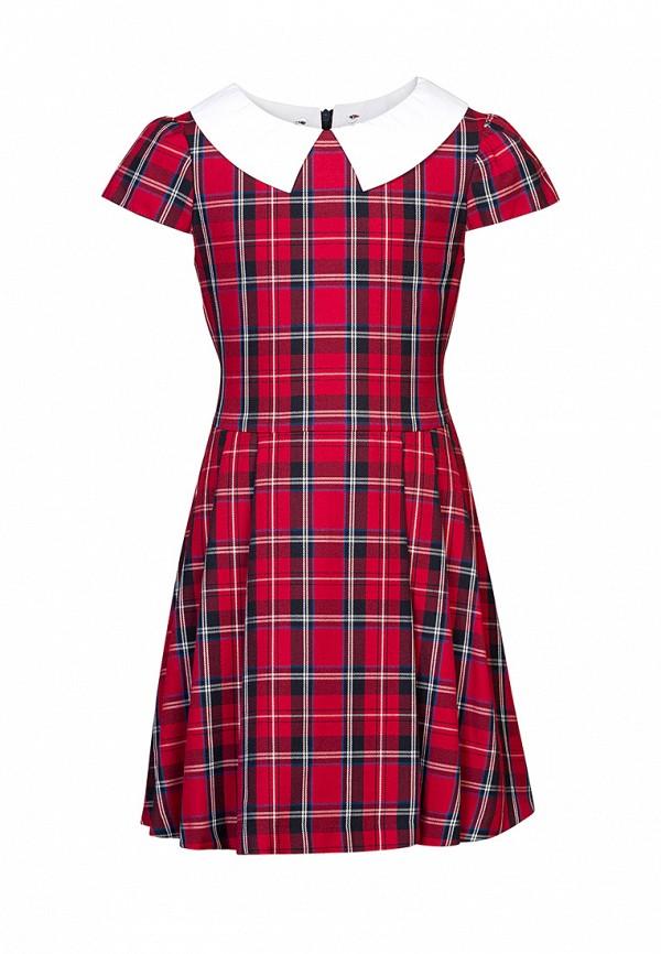 платье sky lake для девочки, красное