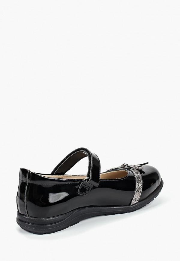 Туфли для девочки Alessio Nesca цвет черный  Фото 2