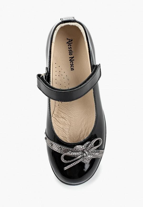 Туфли для девочки Alessio Nesca цвет черный  Фото 4