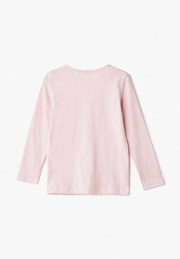 Лонгслив для девочки Incity цвет розовый  Фото 2