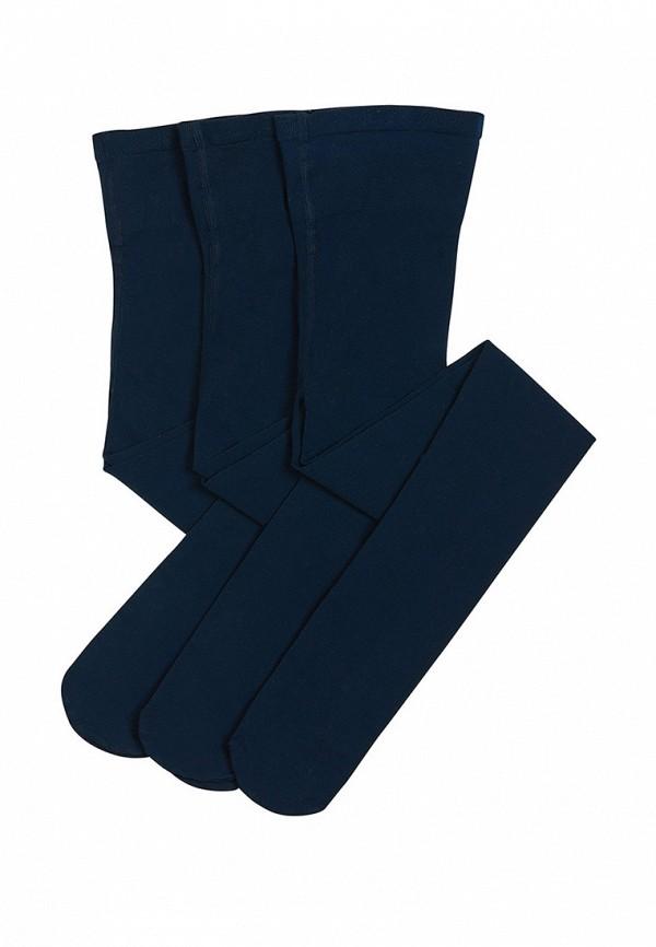 носки yula для девочки, синие