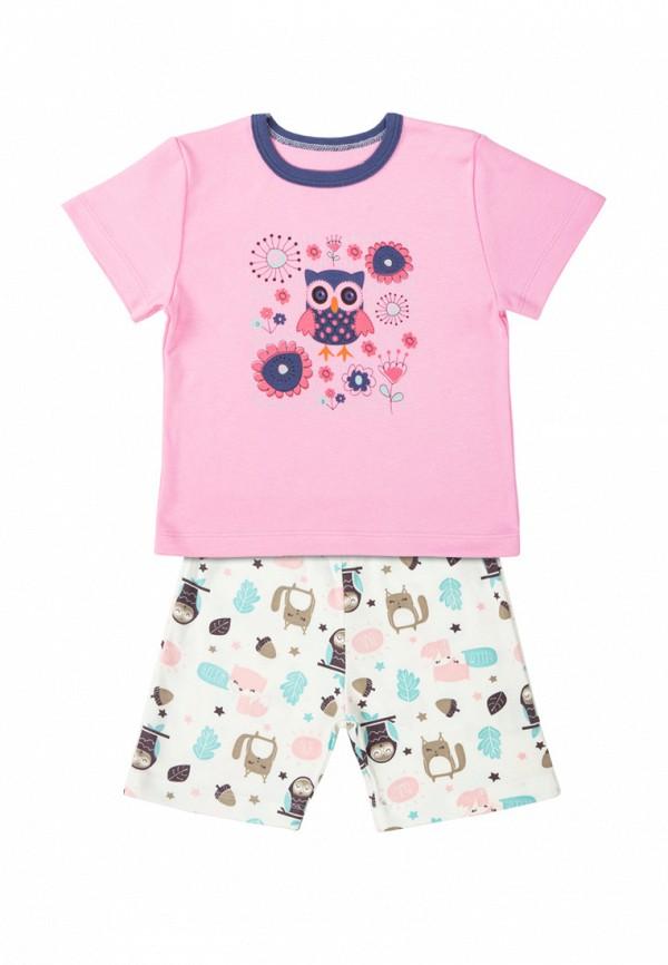 пижама милуша для девочки, разноцветная