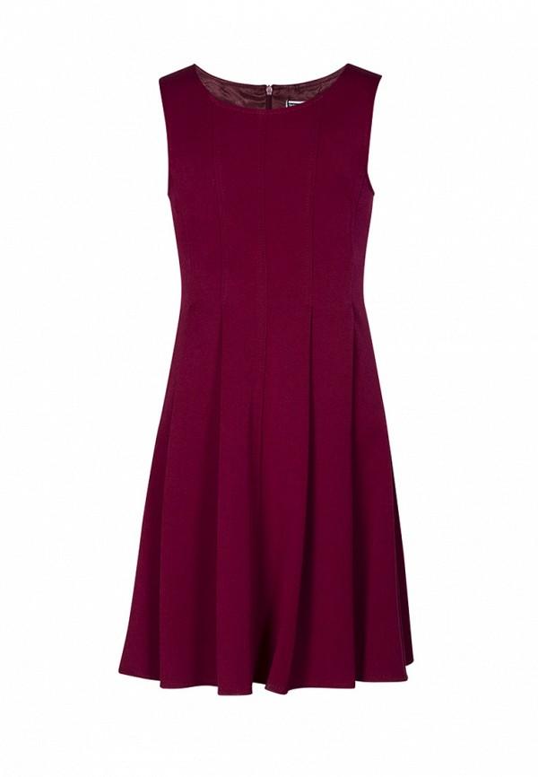 платье sky lake для девочки, бордовое