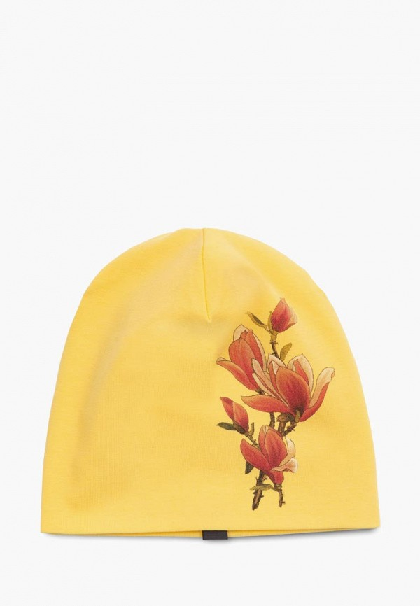 шапка ёмаё для девочки, желтая