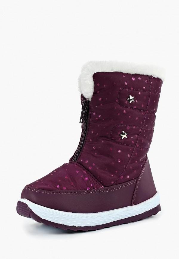 Купить Дутики Max & Jessi, mp002xg00c00, фиолетовый, Осень-зима 2018/2019