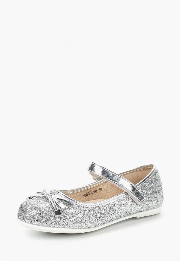 туфли max & jessi для девочки, серебряные