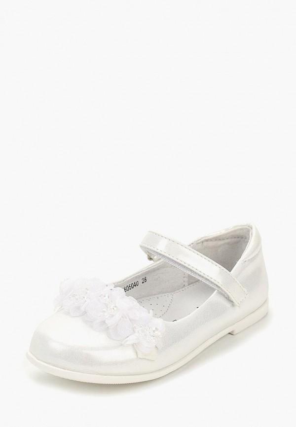 туфли honey girl для девочки, белые