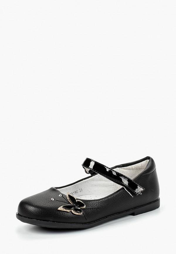 туфли honey girl для девочки, черные