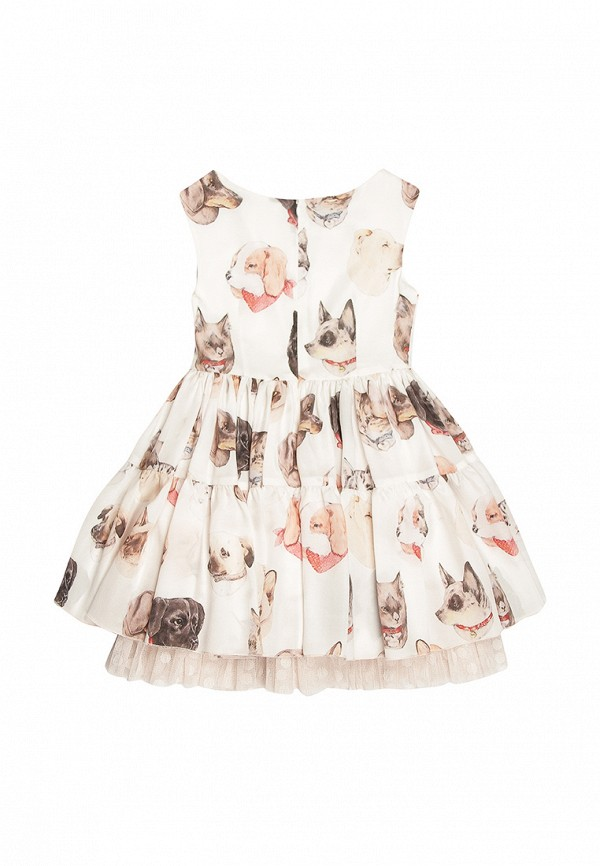 Платья для девочки Noble People цвет бежевый  Фото 2