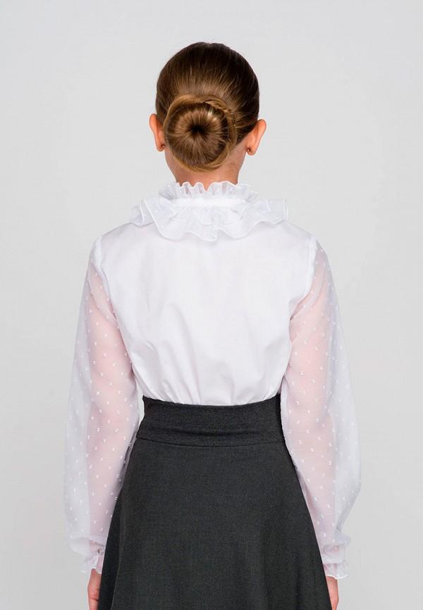 Блуза Красавушка цвет белый  Фото 4