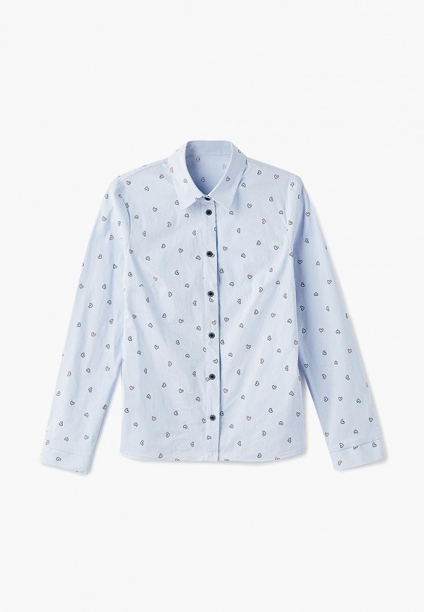 Купить Рубашка Blauz, MP002XG00CIY, голубой, Осень-зима 2018/2019