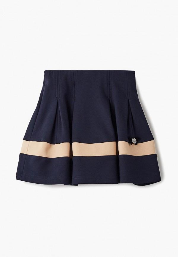 юбка blauz для девочки, синяя