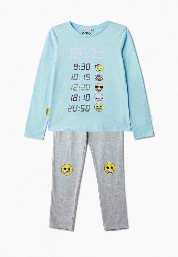 пижама incity для девочки, разноцветная