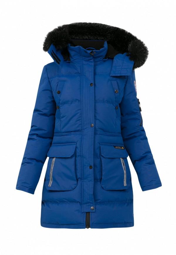 куртка jan steen для девочки, синяя