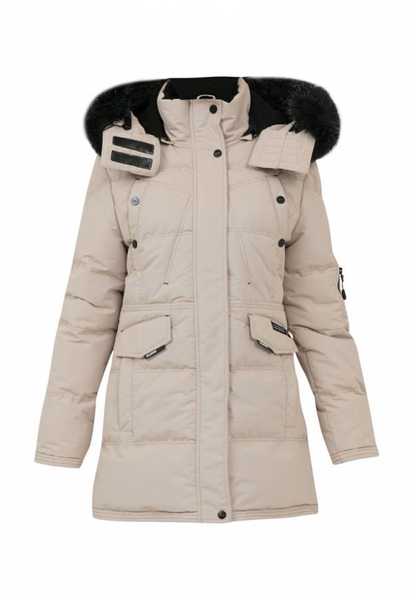 куртка jan steen для девочки, бежевая