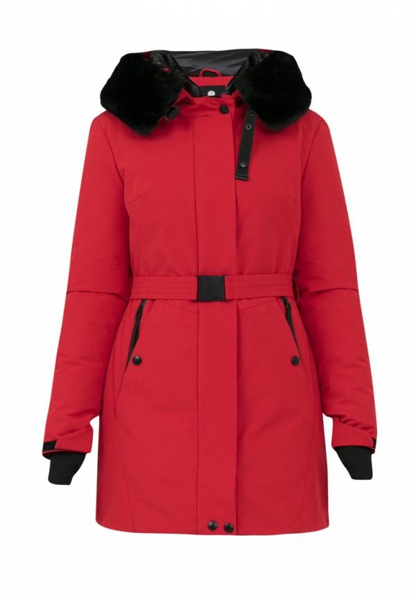 Куртка для девочки утепленная Jan Steen цвет красный
