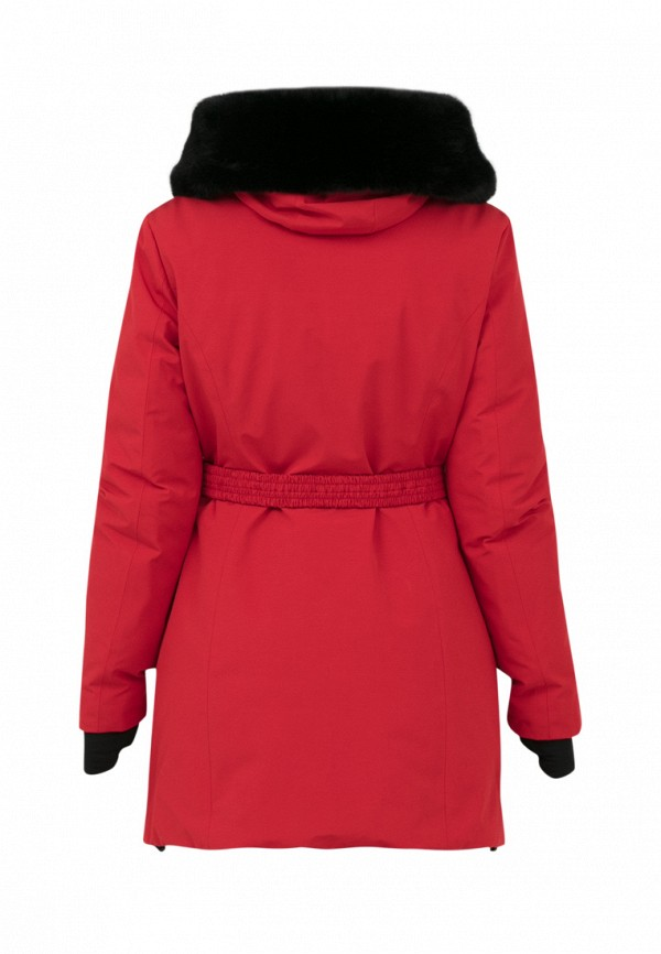 Куртка для девочки утепленная Jan Steen цвет красный  Фото 2