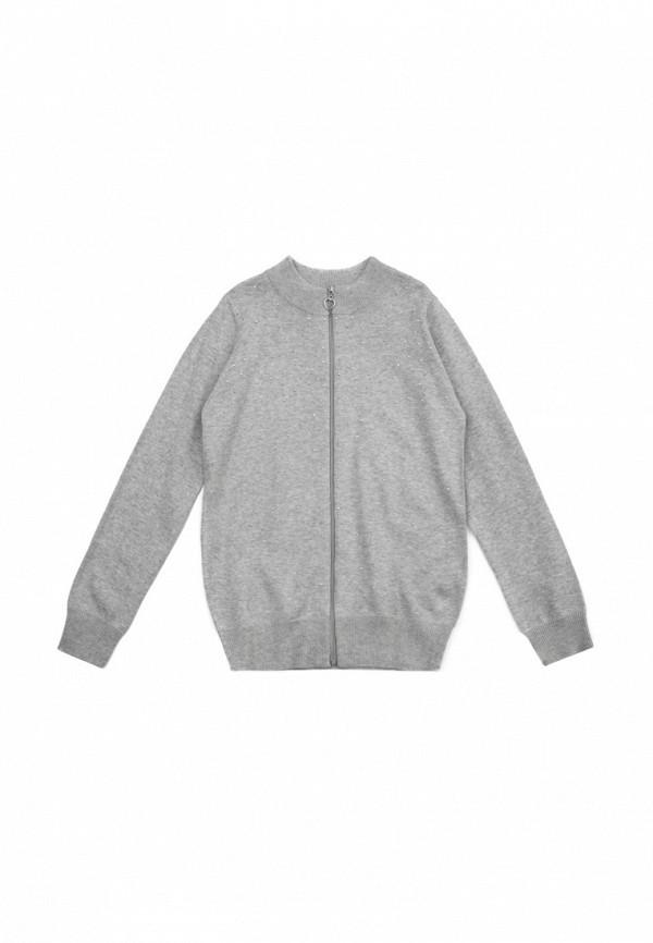 Кардиган для девочки S'Cool цвет серый