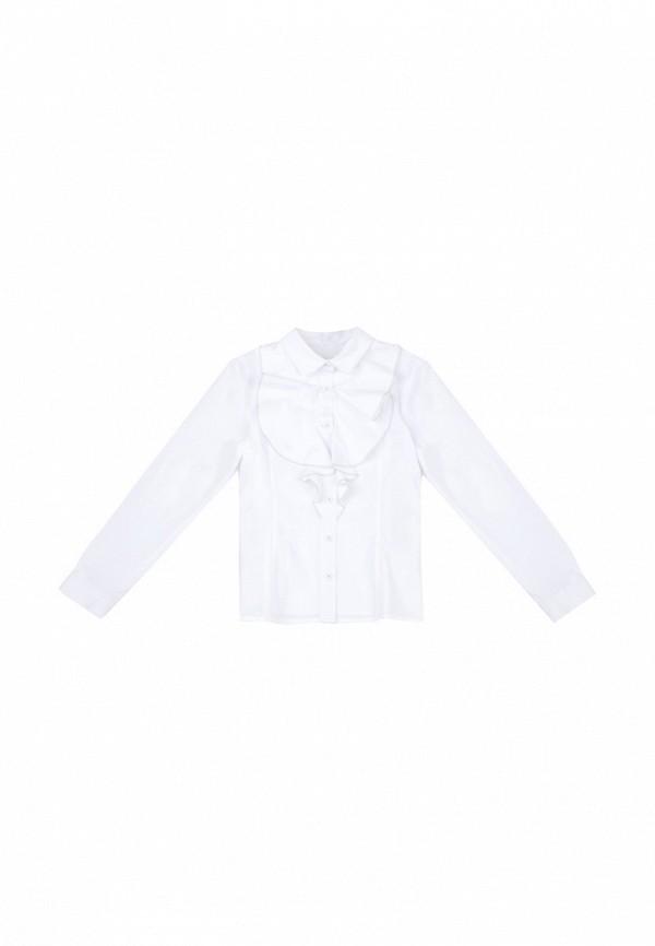 блузка s'cool для девочки, белая