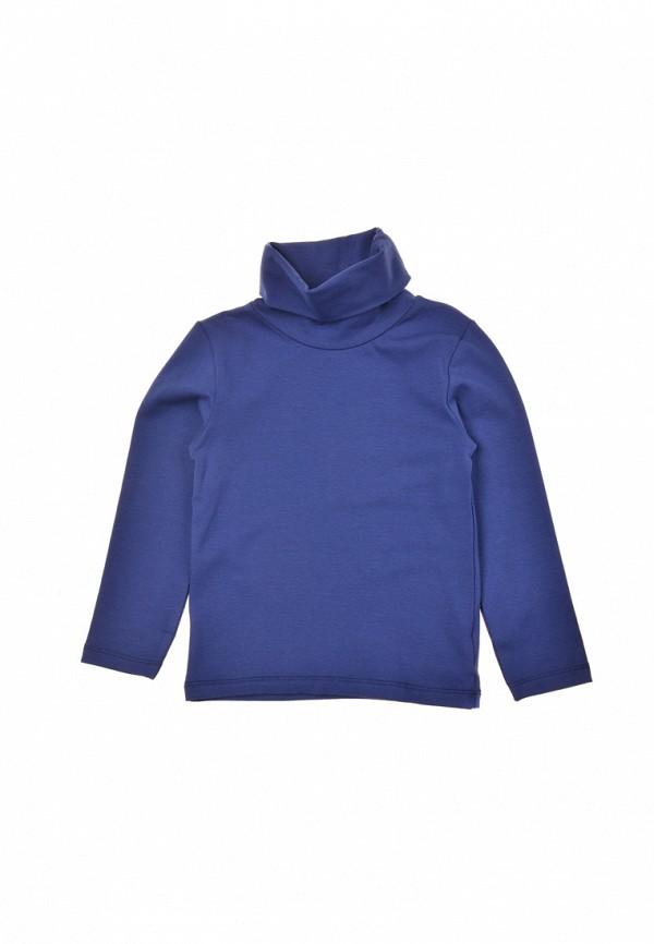 водолазка фламинго текстиль для девочки, синяя