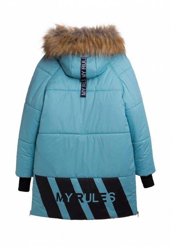 Куртка для девочки утепленная Bell Bimbo цвет бирюзовый  Фото 2