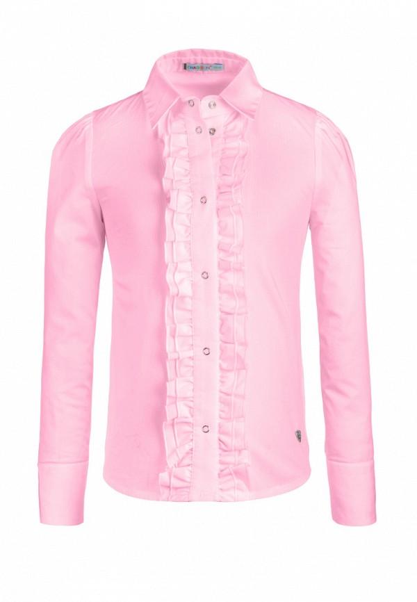 блузка chadolini для девочки, розовая