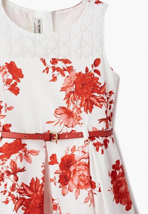 Платья для девочки LC Waikiki цвет белый  Фото 3