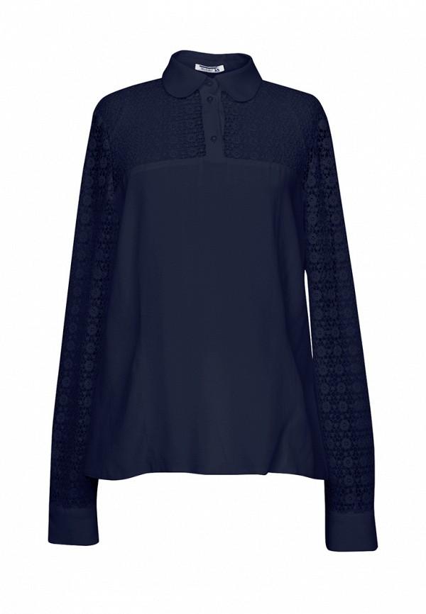 блузка sky lake для девочки, синяя
