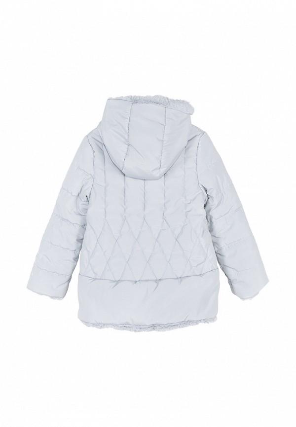 Куртка для девочки утепленная Coccodrillo цвет серый  Фото 2