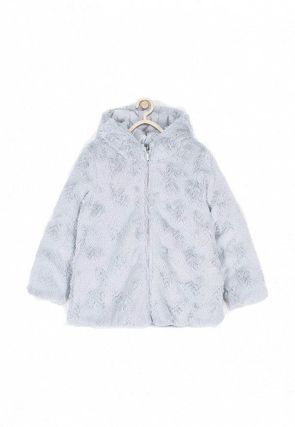 Куртка для девочки утепленная Coccodrillo цвет серый  Фото 3