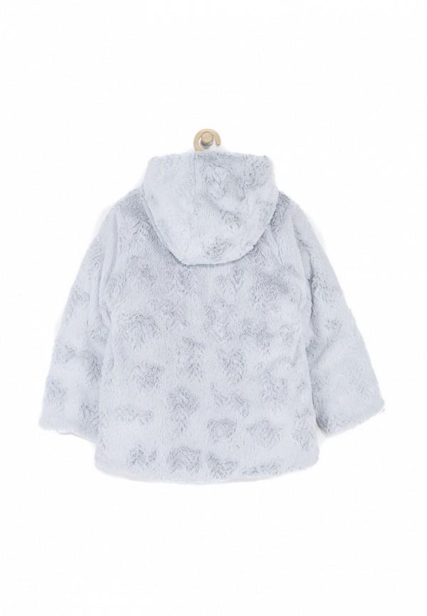 Куртка для девочки утепленная Coccodrillo цвет серый  Фото 4