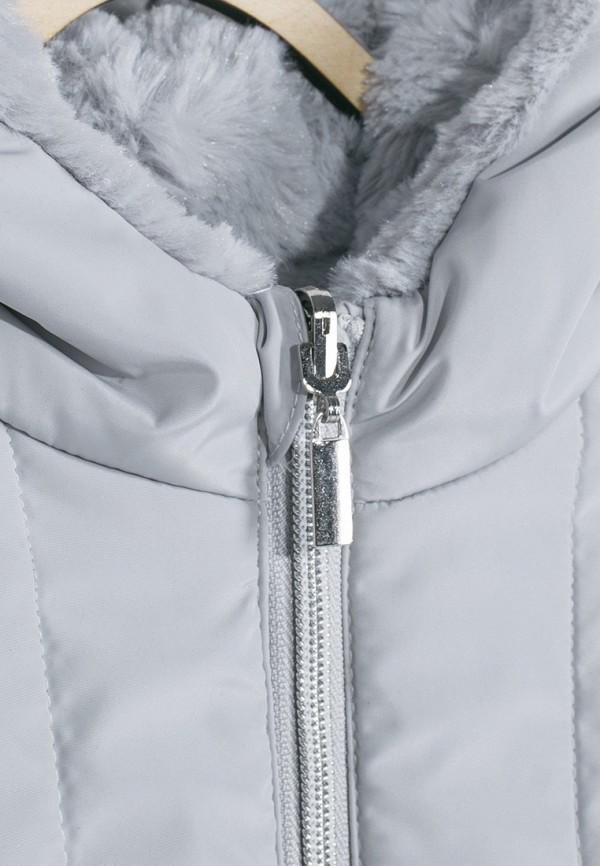 Куртка для девочки утепленная Coccodrillo цвет серый  Фото 5