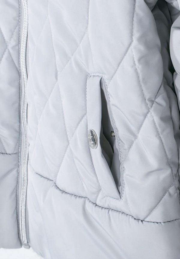 Куртка для девочки утепленная Coccodrillo цвет серый  Фото 6