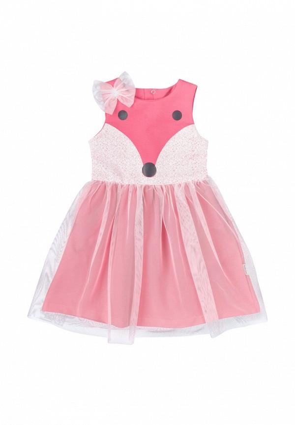 платье robinzon для девочки, розовое