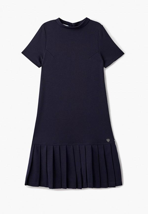 повседневные платье chadolini для девочки, синее
