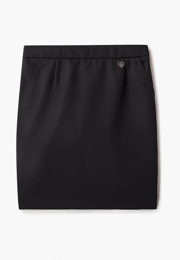 юбка chadolini для девочки, черная