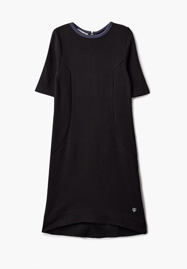 повседневные платье chadolini для девочки, черное