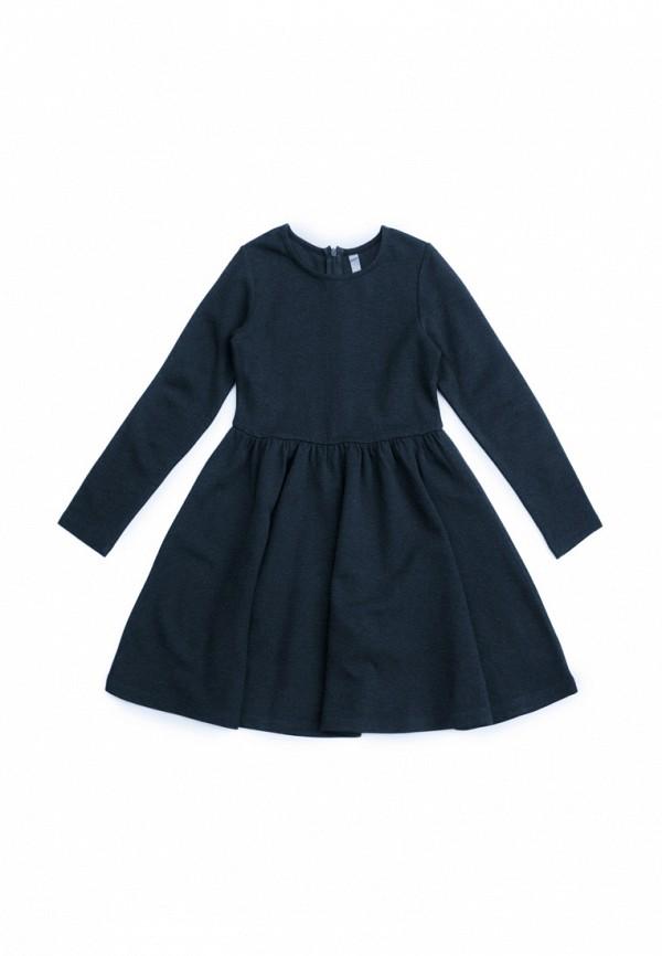 Платья для девочки S'Cool цвет синий  Фото 2