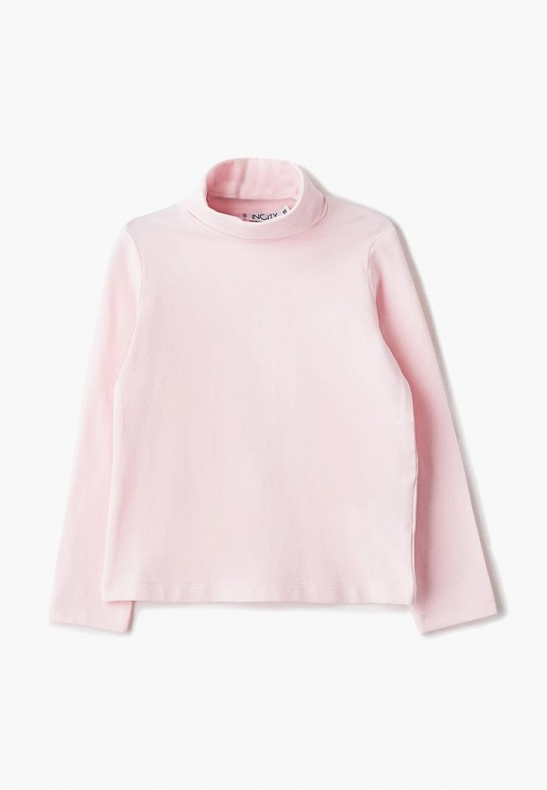 Водолазка для девочки Incity цвет розовый