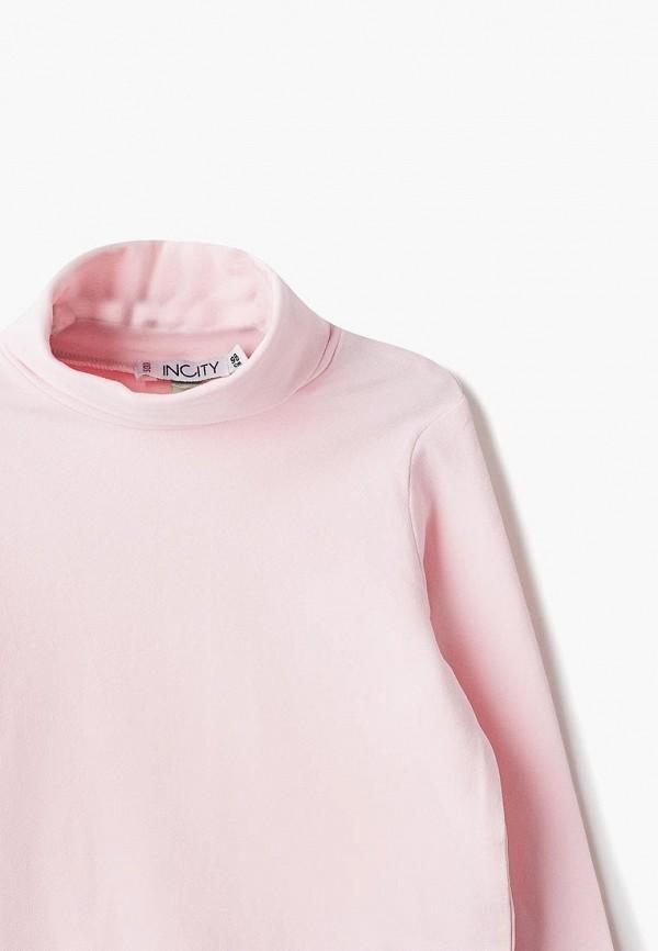 Водолазка для девочки Incity цвет розовый  Фото 3