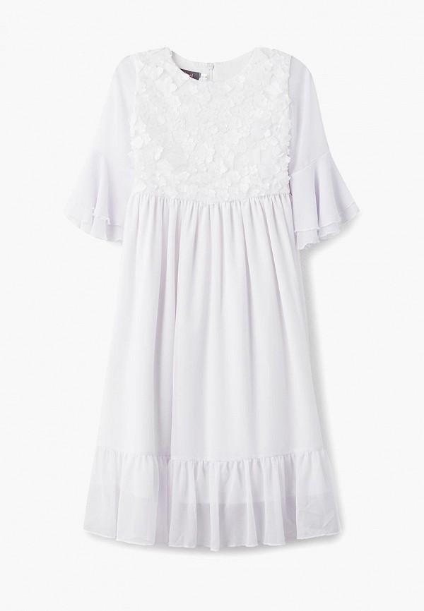 платье shened для девочки, белое
