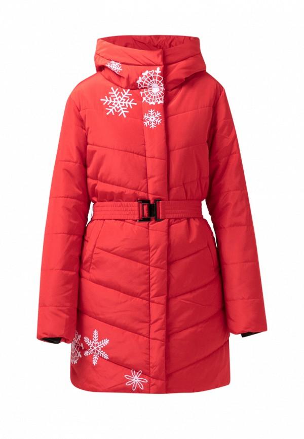 куртка jan steen для девочки, красная