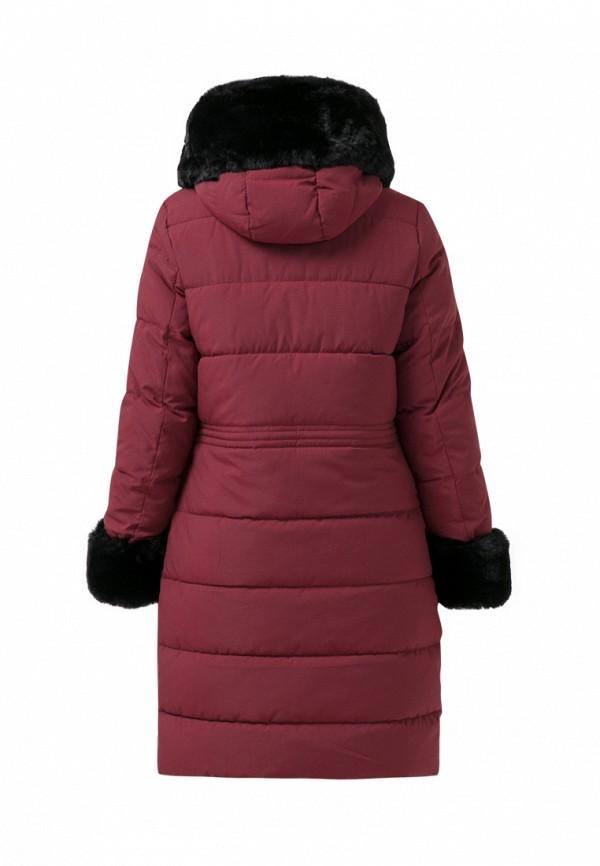 Куртка для девочки утепленная Jan Steen цвет бордовый  Фото 2