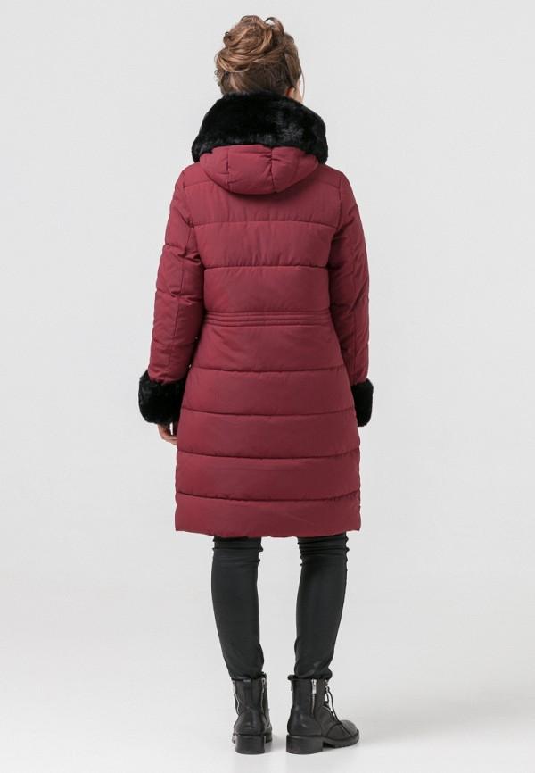 Куртка для девочки утепленная Jan Steen цвет бордовый  Фото 4