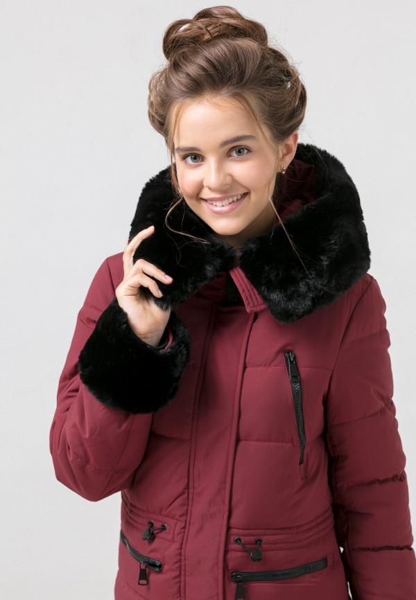 Куртка для девочки утепленная Jan Steen цвет бордовый  Фото 5